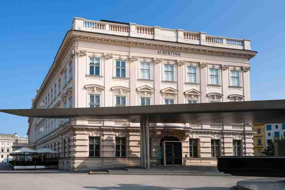 Albertina in Vienna in Austria
