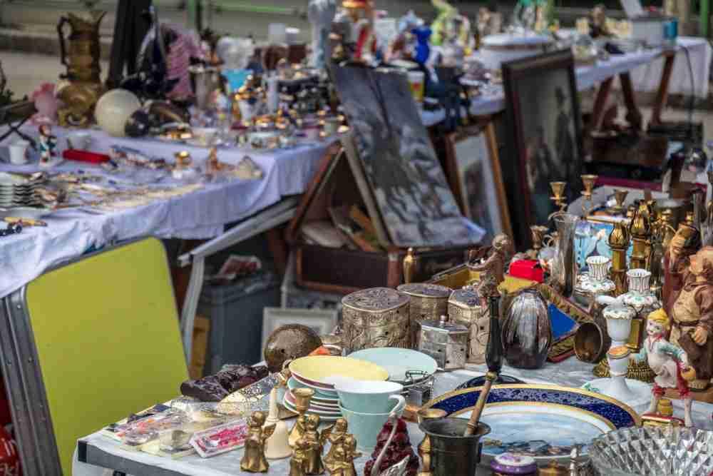 Antiquitätenmarkt in Vienna in Austira