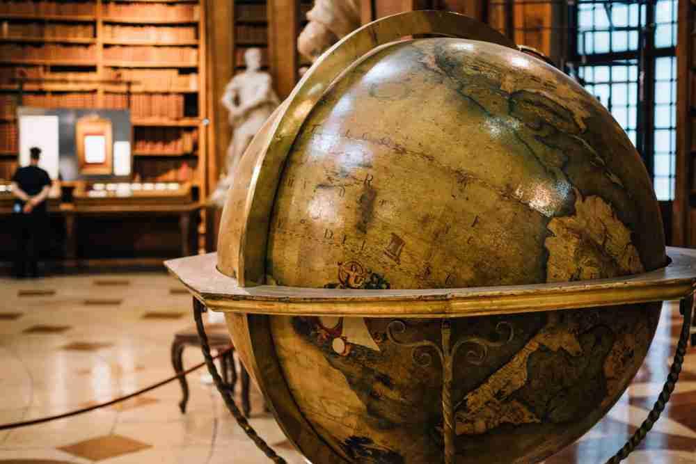 Austrian National Library in Vienna in Austria