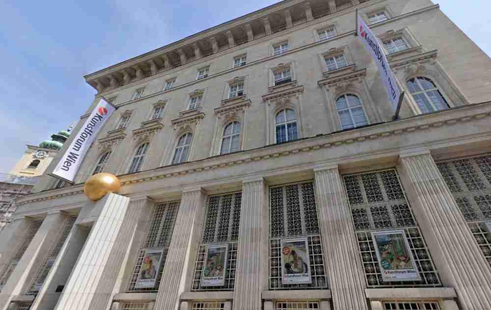 Bank Austria Art Forum in Vienna in Austria