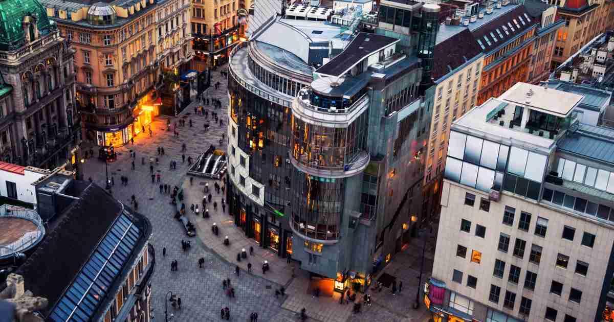 Einkaufshäuser Wien