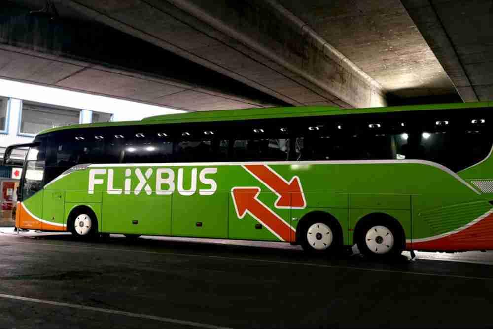 Flixbus am Vienna International Busterminal