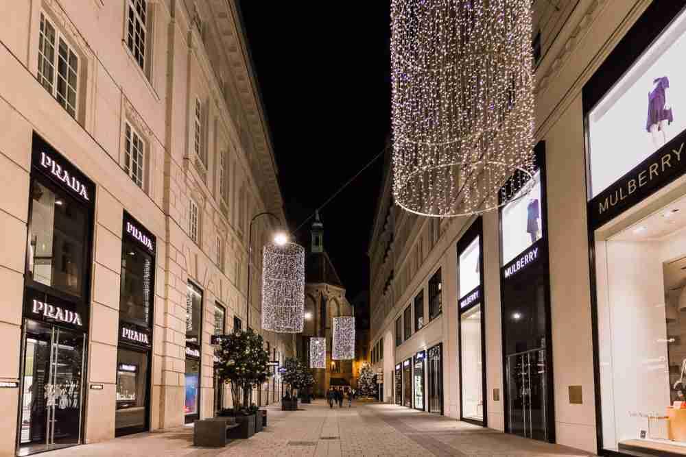 Goldenes Quartier in Vienna in Austria