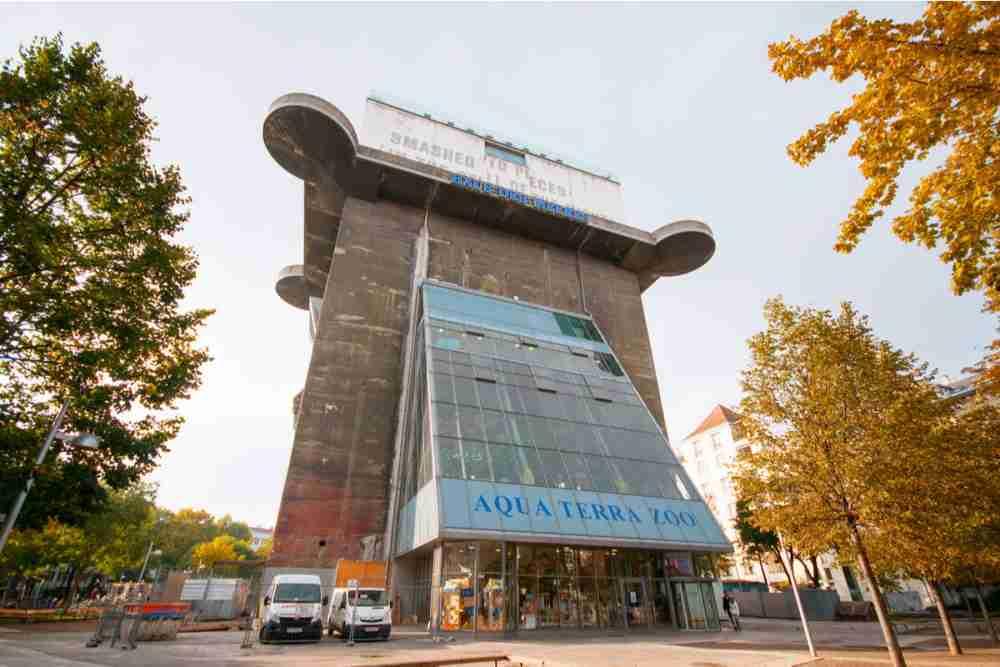 Haus des Meeres in Vienna in Austria