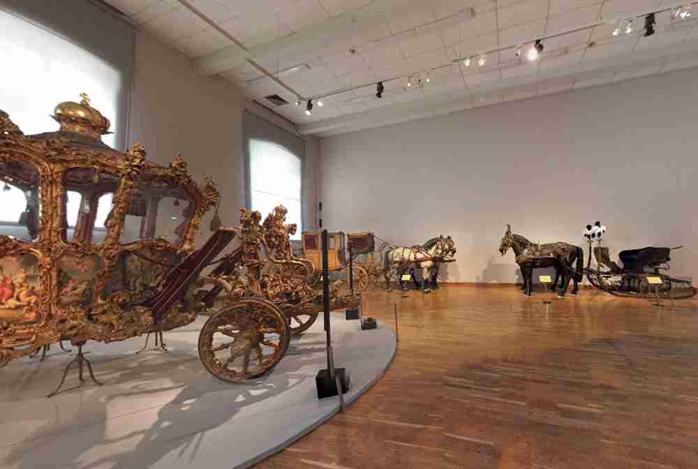 Imperial Carriage Museum Vienna in Austria