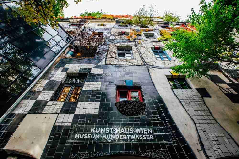 Kunst Haus Wien – Museum Hundertwasser in Vienna in Austria