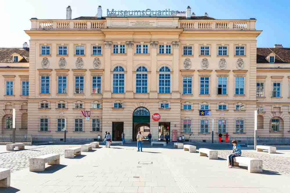 Kunsthalle in Vienna in Austria