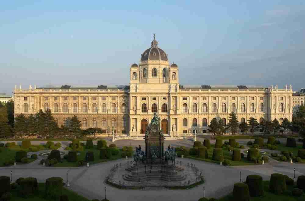 Kunsthistorisches Museum in Vienna in Austria
