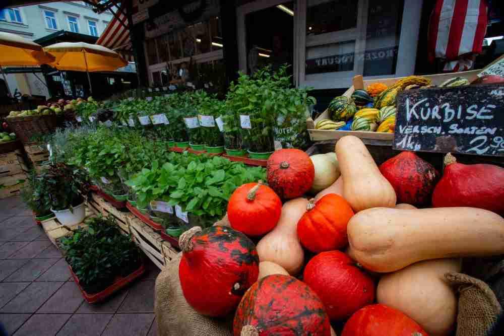 Kutschkermarkt in Vienna in Austria