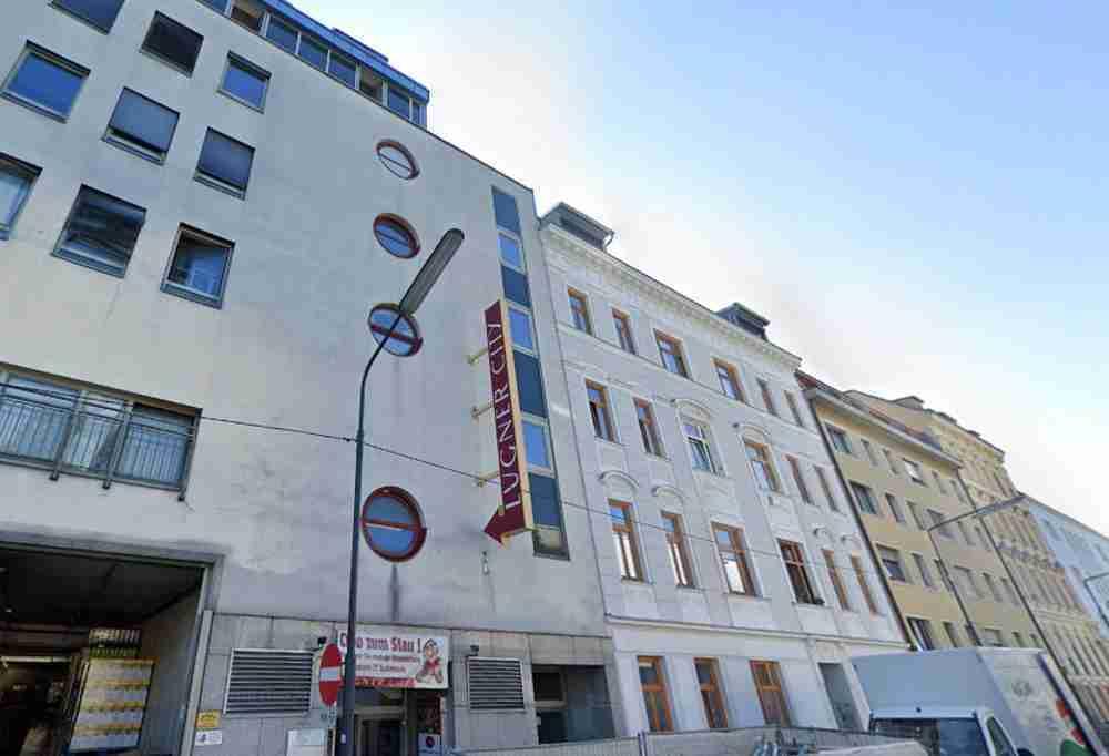 Lugner City in Vienna in Austria