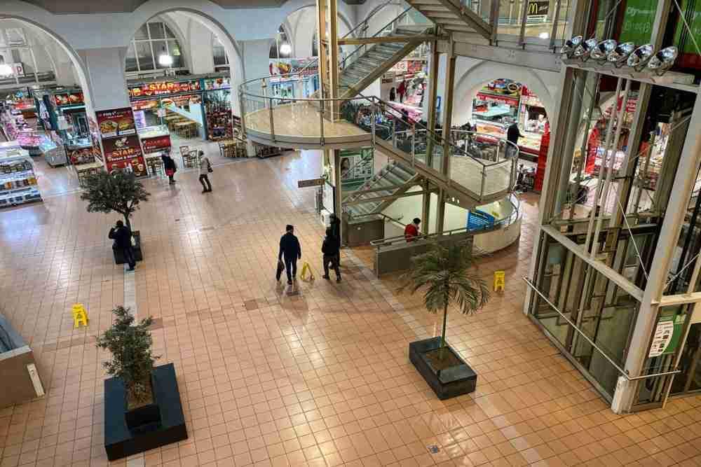 Meiselmarkt in Vienna in Austria