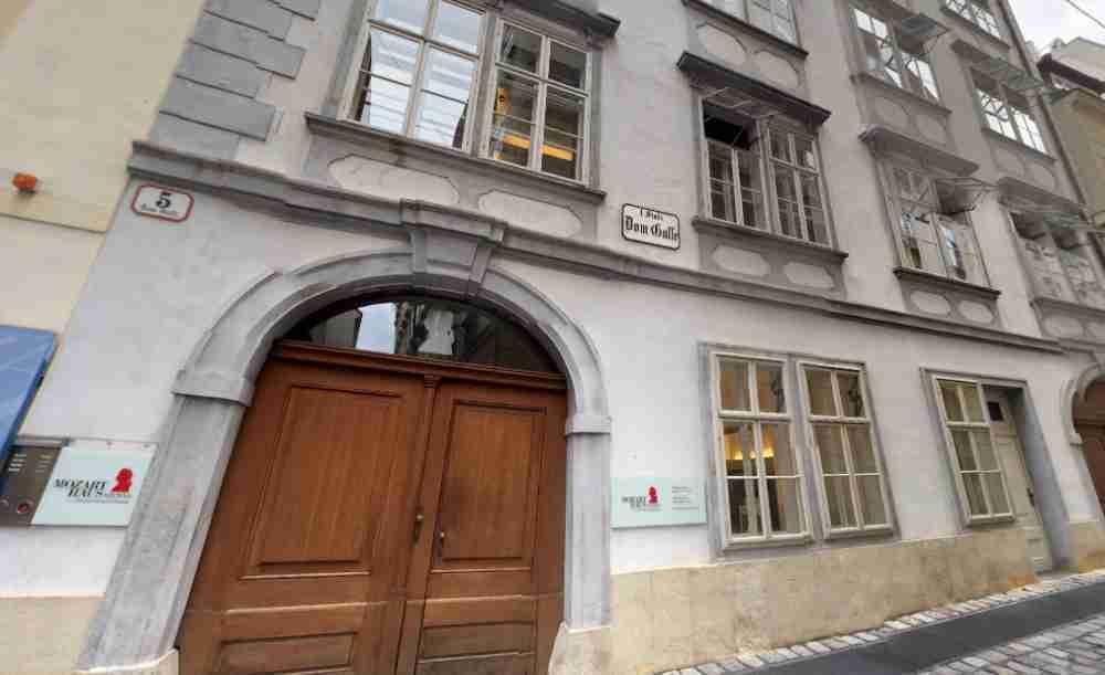 Mozarthaus Vienna in Austria