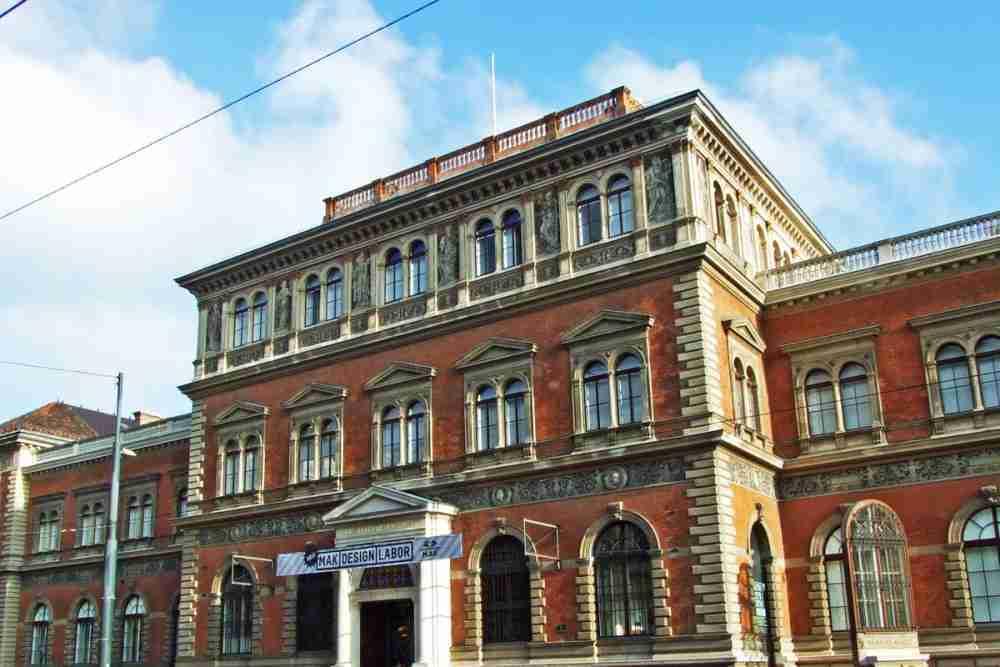 Museum of Applied Arts in Vienna in Austria