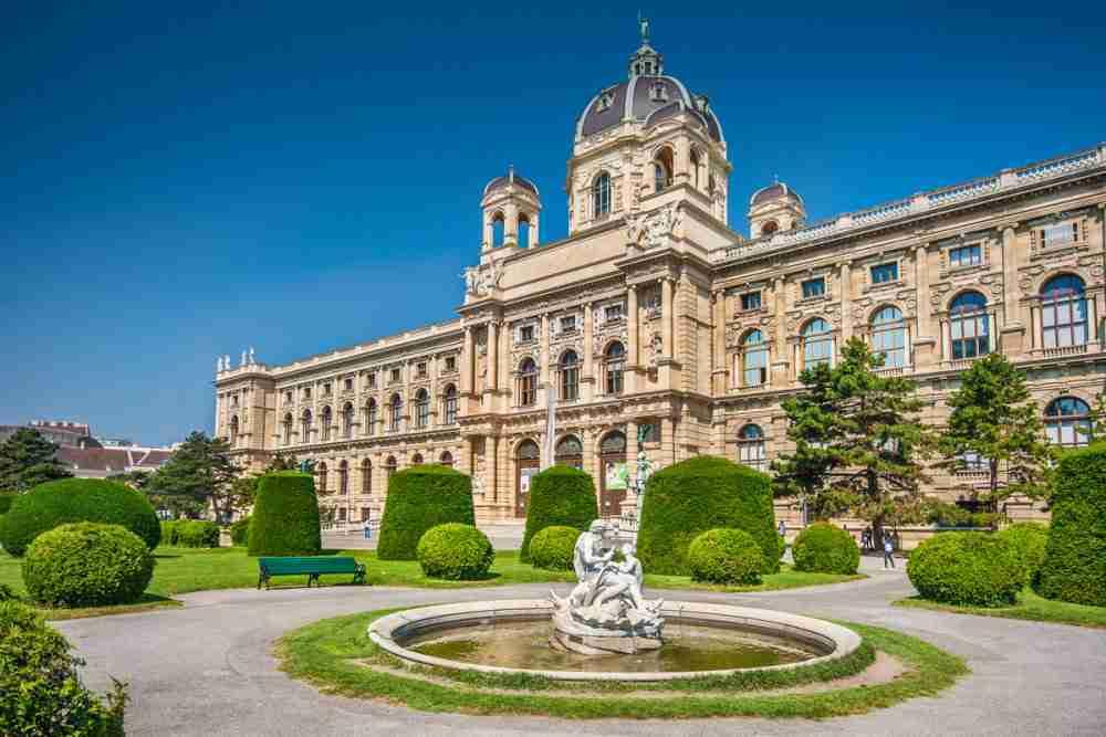 Naturehistorical Museum in Vienna in Austria