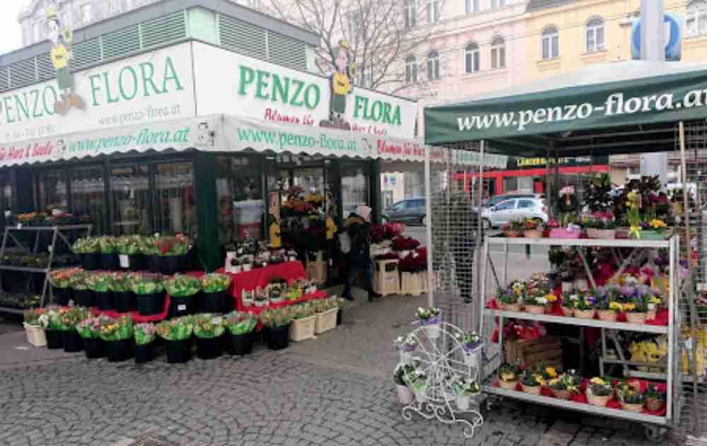 Rochusmarkt in Vienna in Austria
