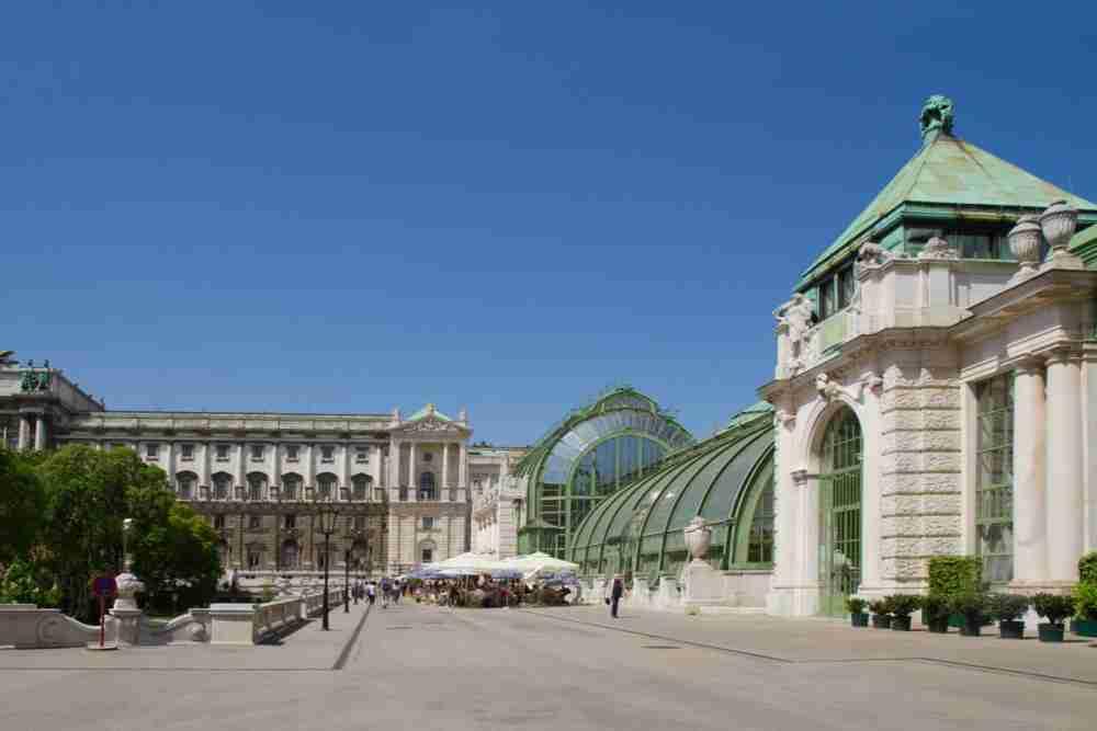 Schmetterlingshaus in Vienna in Austria