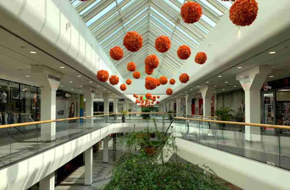 Shopping-Center Nord in Vienna in Austria