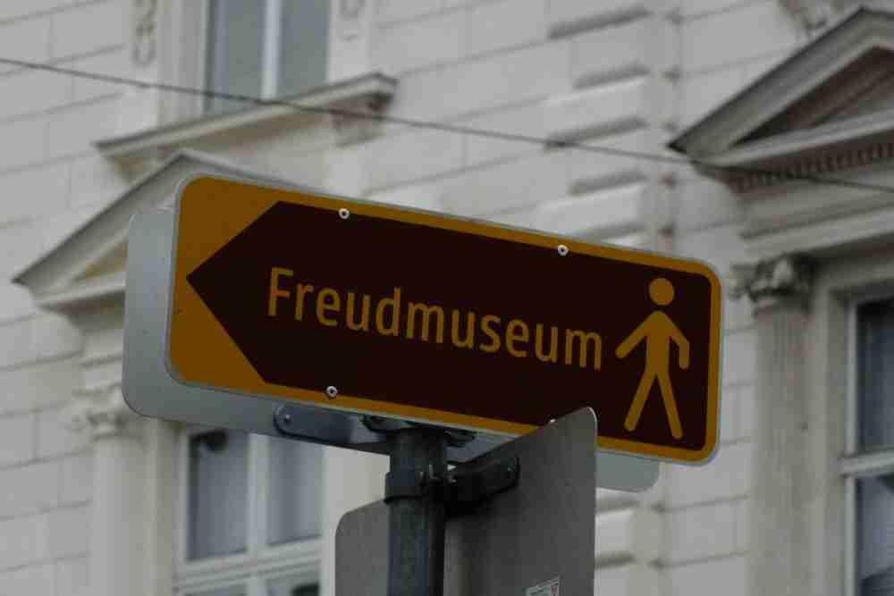 Sigmund Freud Museum in Vienna in Austria