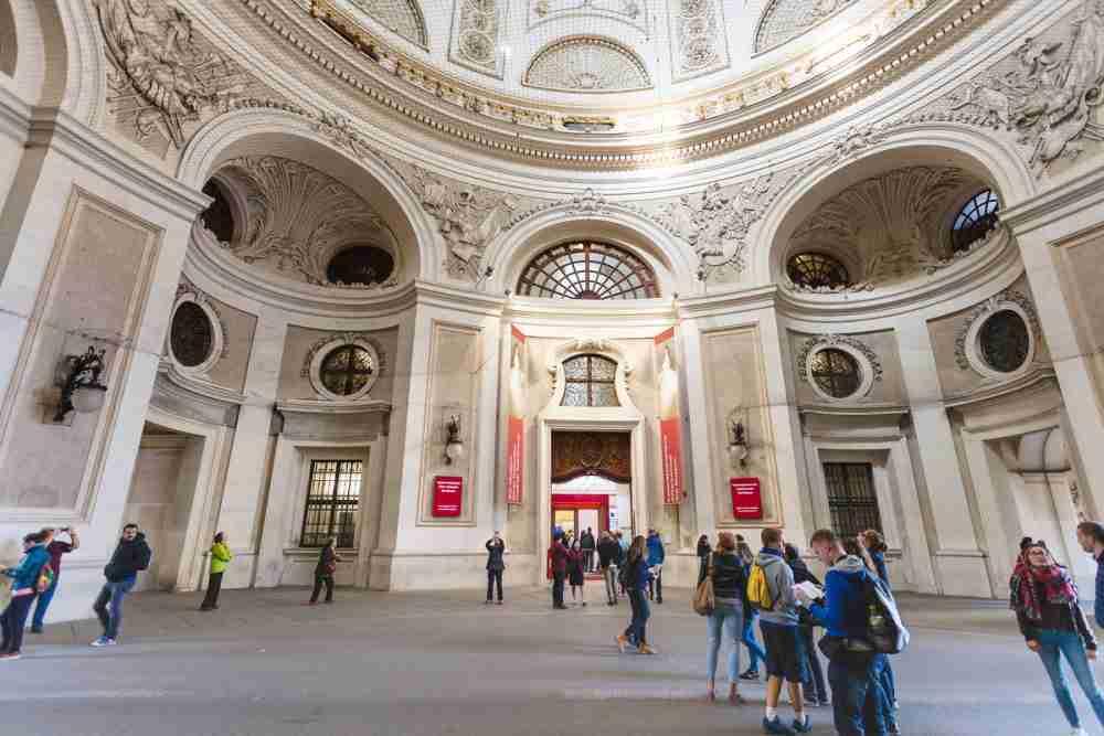 Sisi Museum in Vienna in Austria
