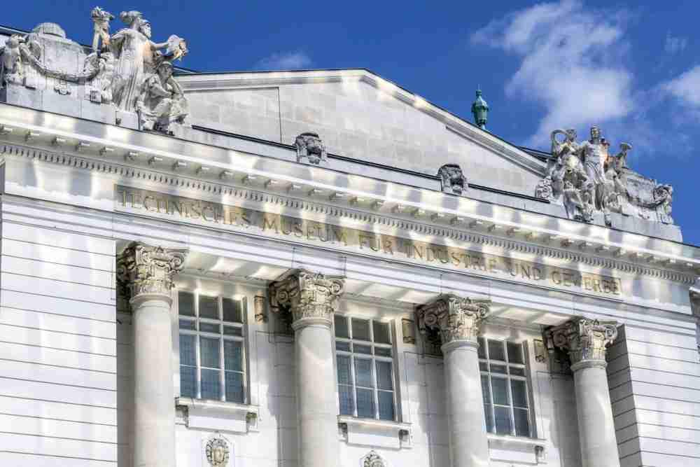 Technisches Museum in Vienna in Austria
