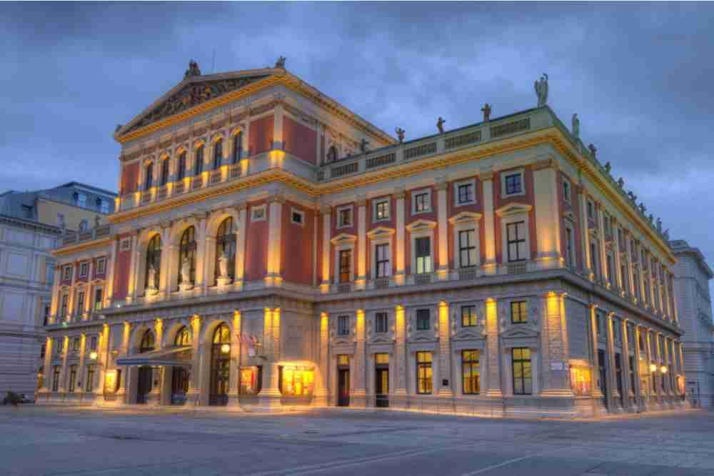 Vienna Philharmonic in Vienna in Austria