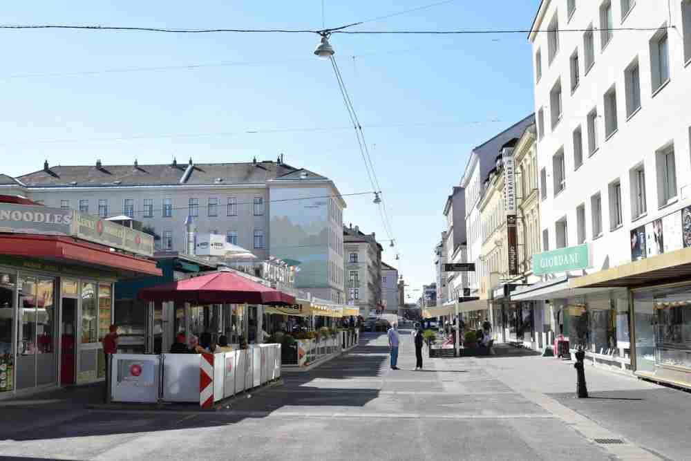 Viktor Adler Markt in Vienna in Austria