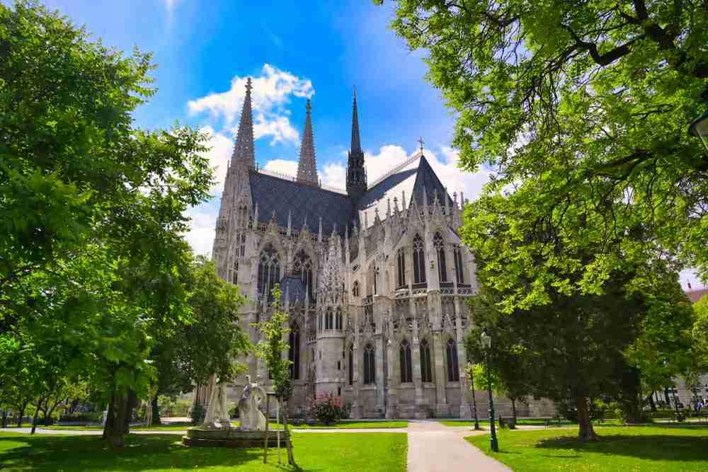 Votivkirche in Vienna in Austria