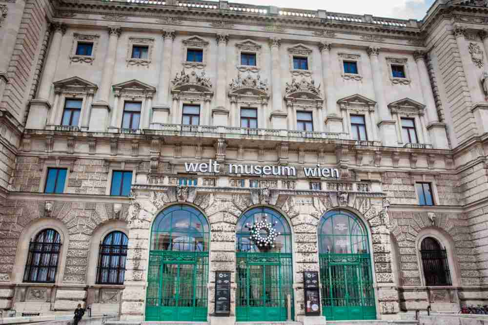 Weltmuseum Wien in Austria