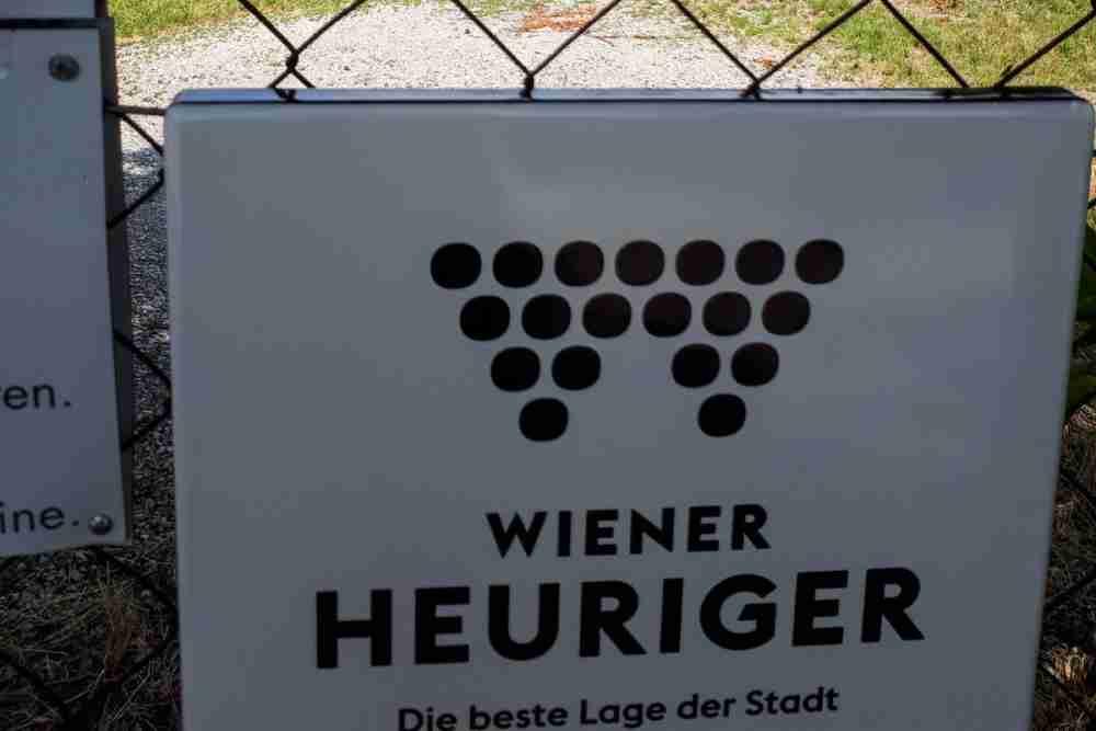 Wiener Heurige in Vienna in Austria