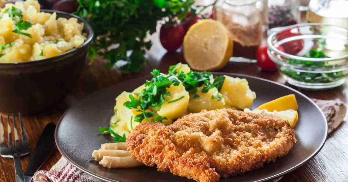 Viennese cuisine in Vienna in Austria