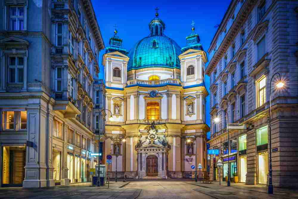 saint peter church vienna in austria