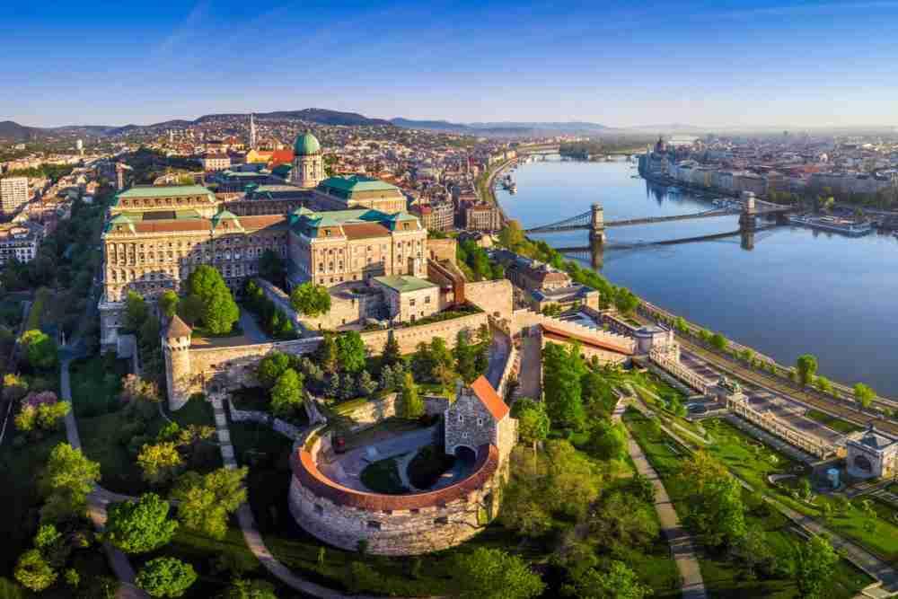 Budapest from Vienna