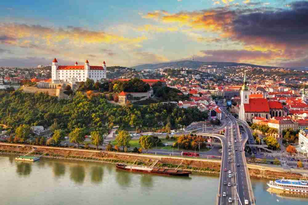 Day trip to Bratislava with the Twin City Liner in Vienna in Austria