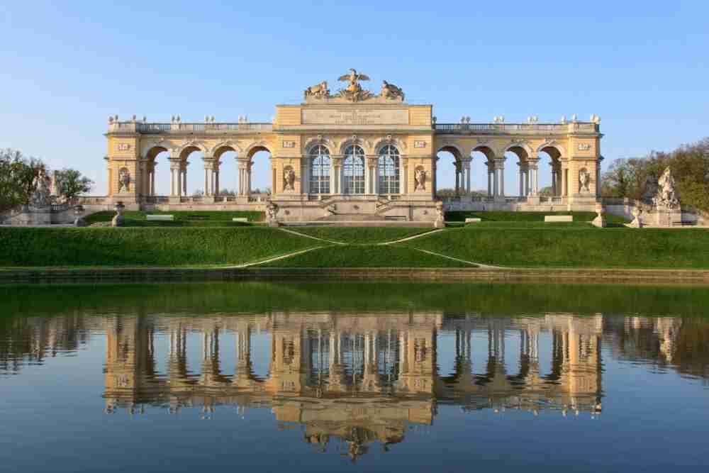 Gloriette in Vienna in Austria