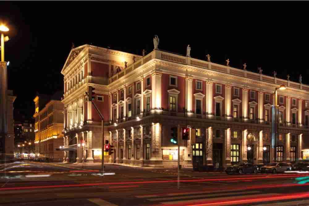 Wiener Konzerthaus in Vienna in Austria