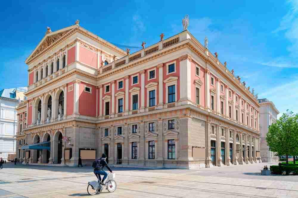 Wiener Musikverein in Vienna in Austria