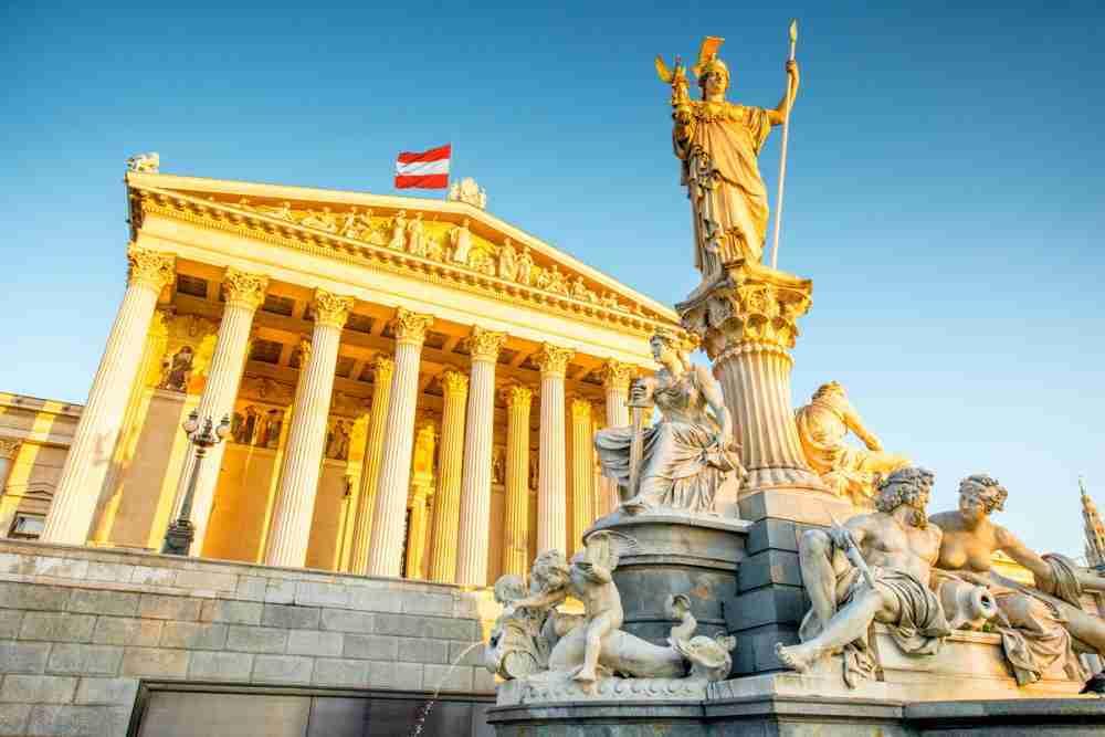 austrian parliament vienna in austria