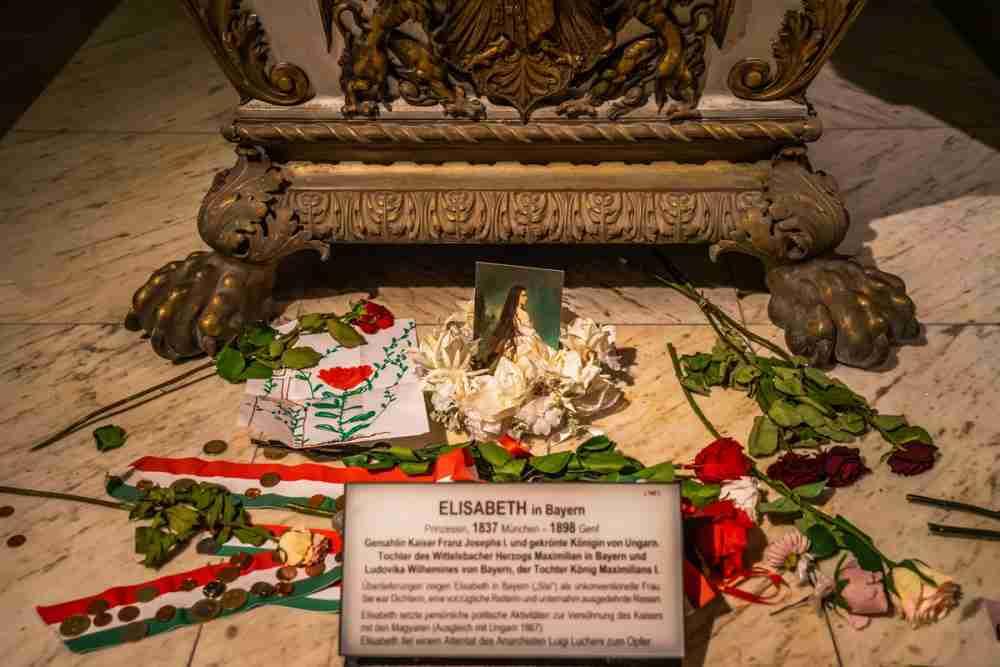 Berühmte Sarkophage in Vienna in Austria