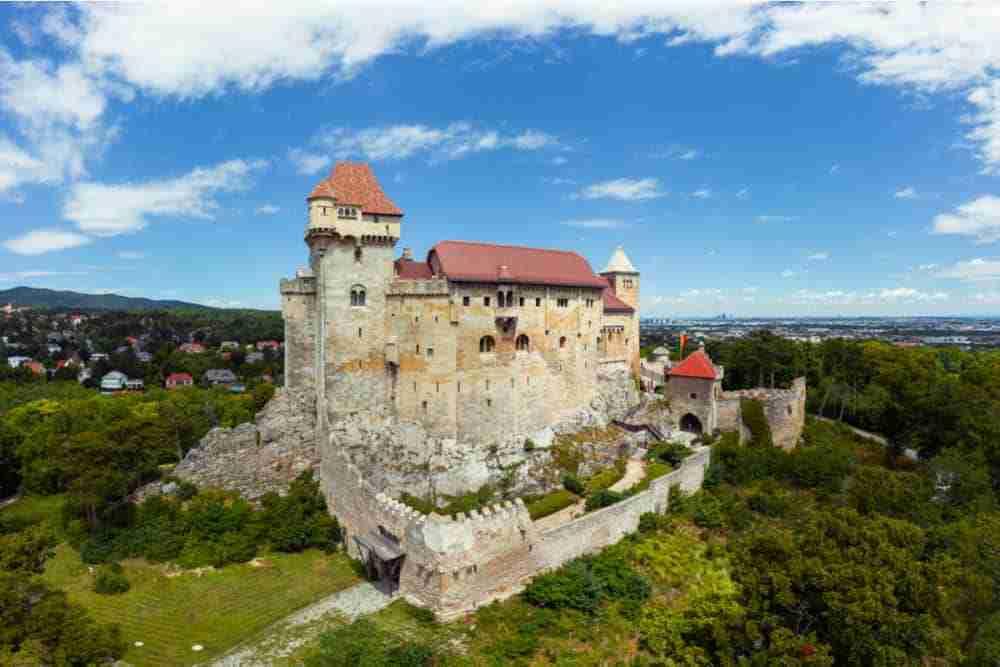 Burg Liechtenstein in Vienna in Austria