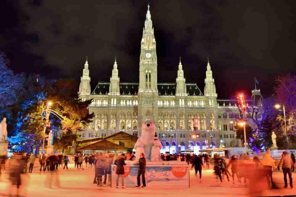 Eistraum in Vienna in Austria
