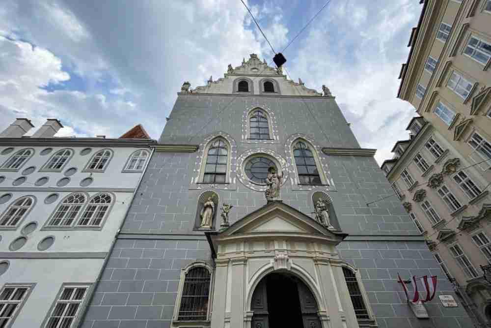 Fransziskanerkirche in Vienna in Austria
