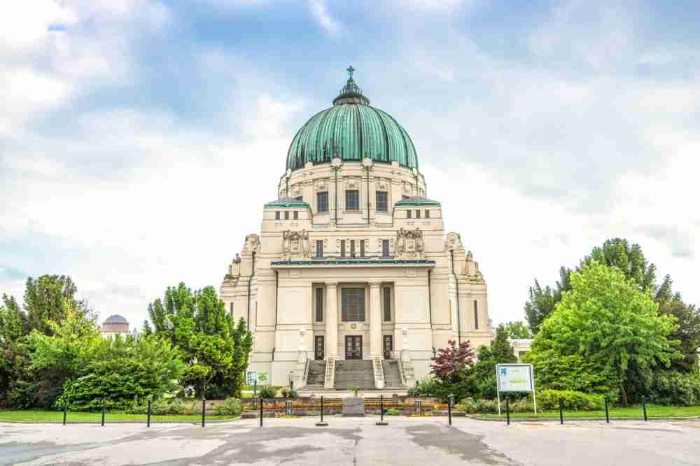 Karl-Borromäus-Kirche (Zentralfriedhof) in Vienna in Austria
