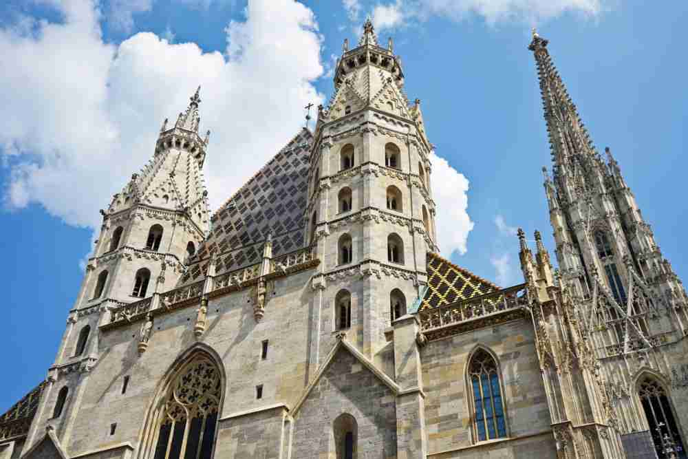 Kathedrale St. Stephan in Vienna in Austria