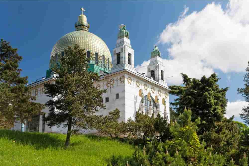 Kirche am Steinhof in Vienna in Austria