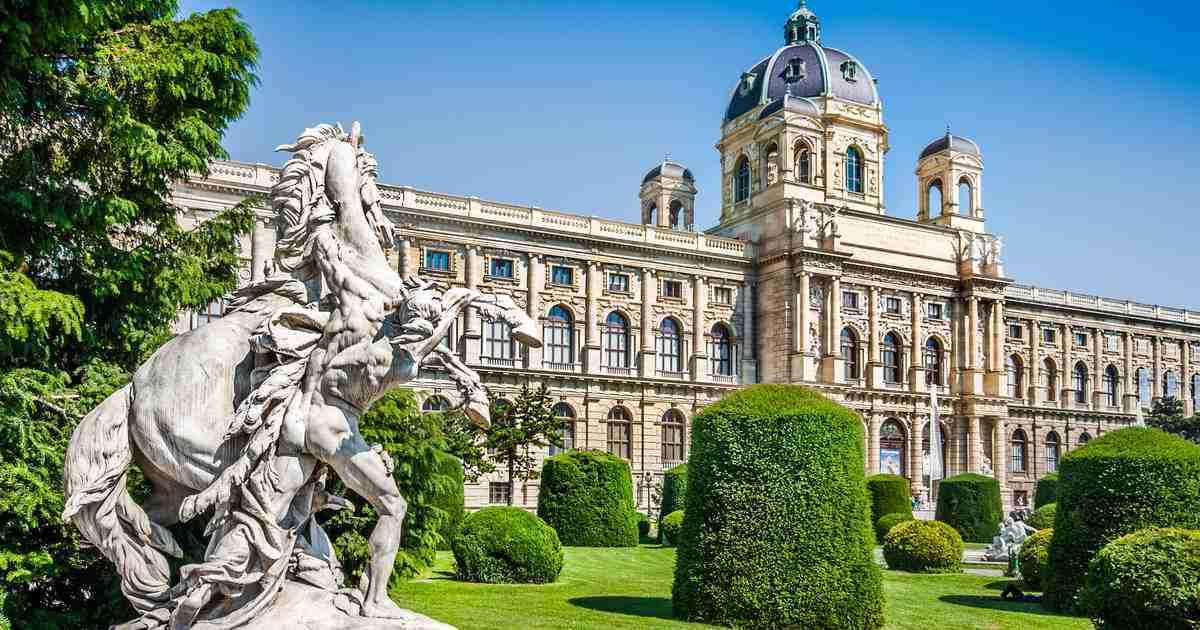 Naturhistorisches Museum in Vienna in Austria