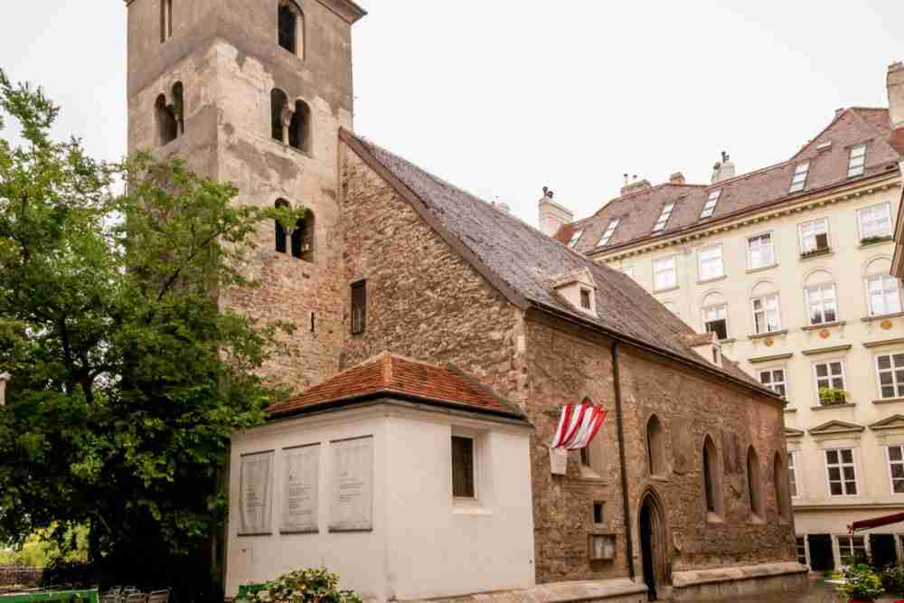 Ruprechtskirche in Vienna in Austria