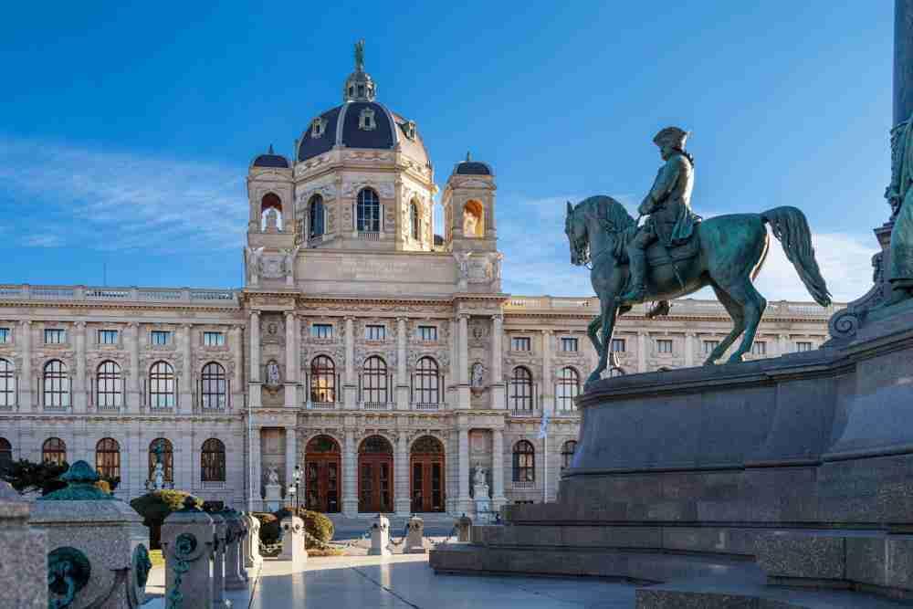 Sammlungen im Museum in Vienna in Austria