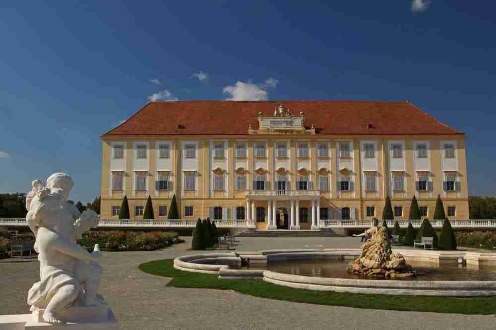Schloss Hof in Vienna in Austria