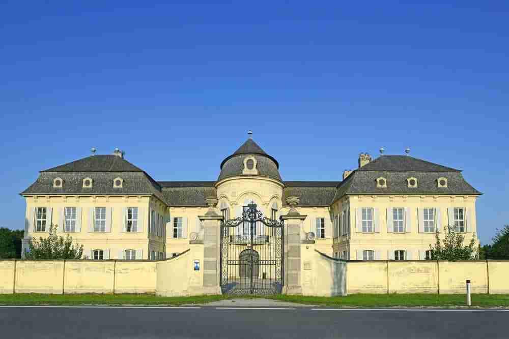 Schloss Niederweiden in Vienna in Austria