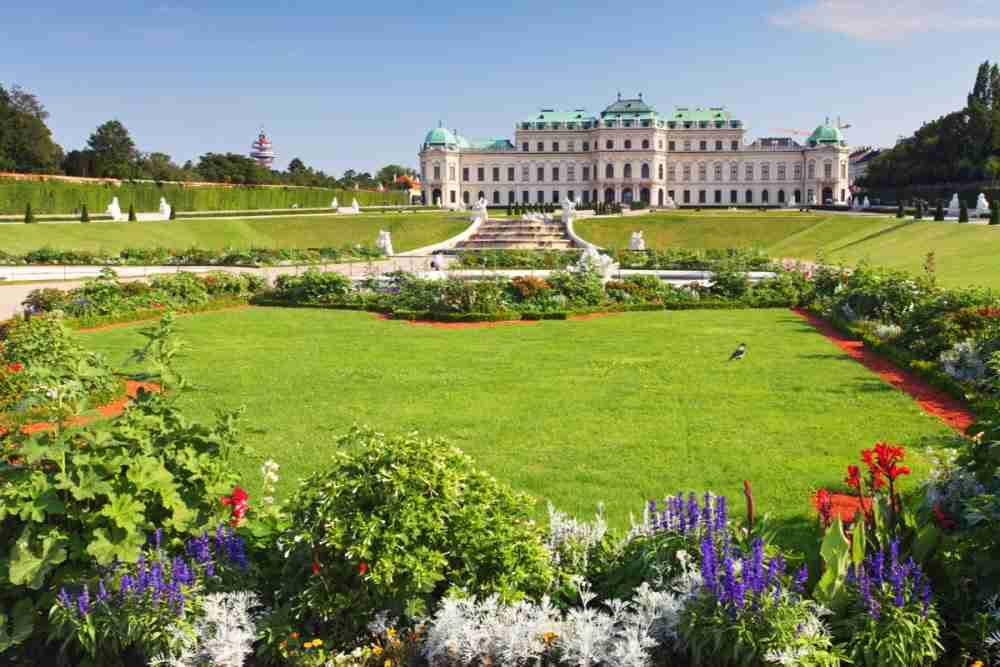 Schlossgarten Belvedere mit dem Botanischen Garten
